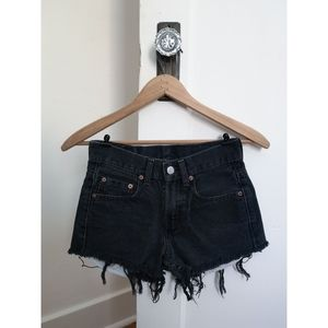 Vintage High Waisted 550 Levi Cut Off Shorts